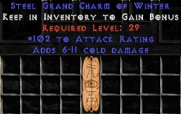 102 Attack Rating w/ 6-11 Cold Damage GC