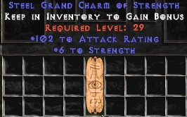 102 Attack Rating w/ 6 Str GC