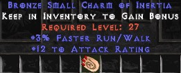12 Attack Rating w/ 3% FRW SC