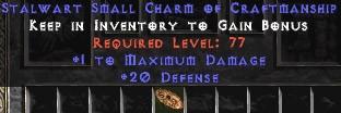 20-26 Defense w/ 1 Max Damage SC