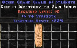 20 Resist Lightning w/ 6 Str GC