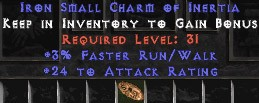 24 Attack Rating w/ 3% FRW SC
