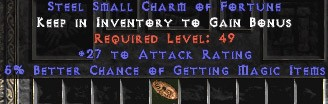 25-32 Attack Rating w/ 5-6% MF SC