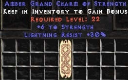 30 Resist Lightning w/ 6 Str GC