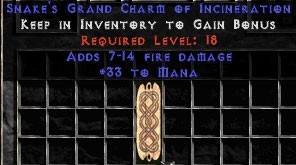 33 Mana w/ 7-14 Fire Damage GC
