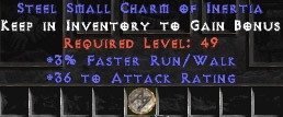 36 Attack Rating w/ 3% FRW SC - Perfect