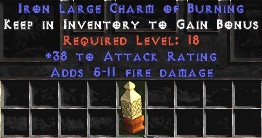 38 Attack Rating w/ 5-11 Fire Damage LC