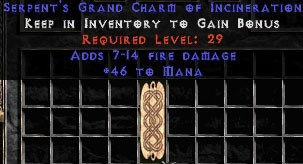 46 Mana w/ 7-14 Fire Damage GC