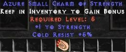 5 Resist Cold w/ 1 Str SC
