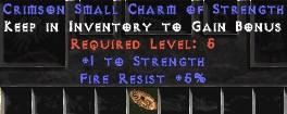 5 Resist Fire w/ 1 Str SC