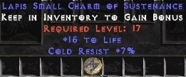 7 Resist Cold w/ 15 Life SC