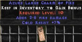 7 Resist Cold w/ 2-5 Fire Damage LC