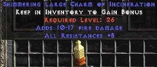 8 Resist All w/ 10-17 Fire Damage LC