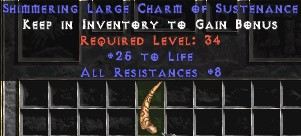 8 Resist All w/ 25 Life LC
