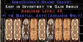 9 x Pack - Assassin Martial Arts GC (plain)