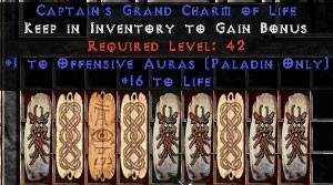 9 x Pack - Paladin Offensive Auras w/ 10-20 Life GC