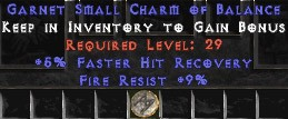 9 Resist Fire w/ 5% FHR SC