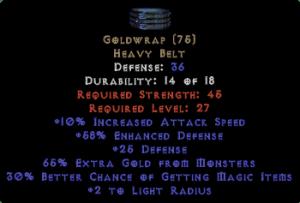 Goldwrap - Unid