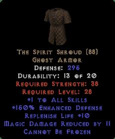 The Spirit Shroud - 11 MDR - Perfect