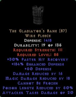The Gladiator's Bane