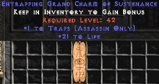 Assassin Traps w/ 21-29 Life GC