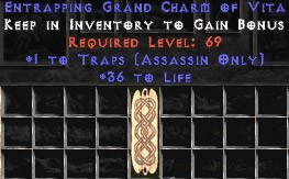 Assassin Traps w/ 36-39 Life GC