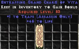 Assassin Traps w/ 45 Life GC