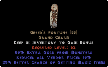 Gheed's Fortune - 15% RVP