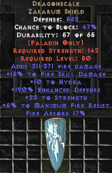Dragonscale 10-19% Fire Absorb