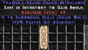 Druid Summoning Skills w/ 12% FHR GC