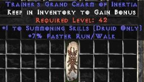 Druid Summoning Skills w/ 7% FRW GC