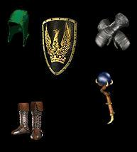 Barbarian Gear Pack - Frenzy Equipment (Basic)