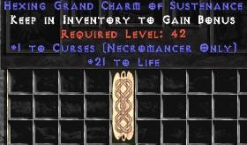 Necromancer Curses w/ 21-29 Life GC