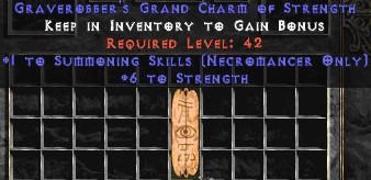 Necromancer Summoning Skills w/ 6 Strength GC