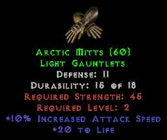 Arctic Mitts - 11 Defense - Perfect