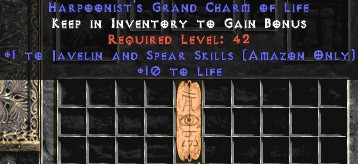 9 x Pack - Amazon Javelin & Spear Skills w/ 10-20 Life GC